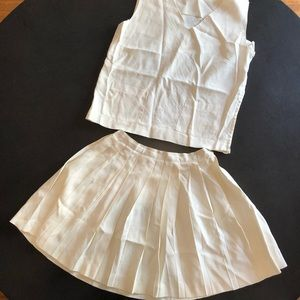 1940's vintage tennis outfit